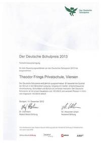 Der deutsche Schulpreis 2013